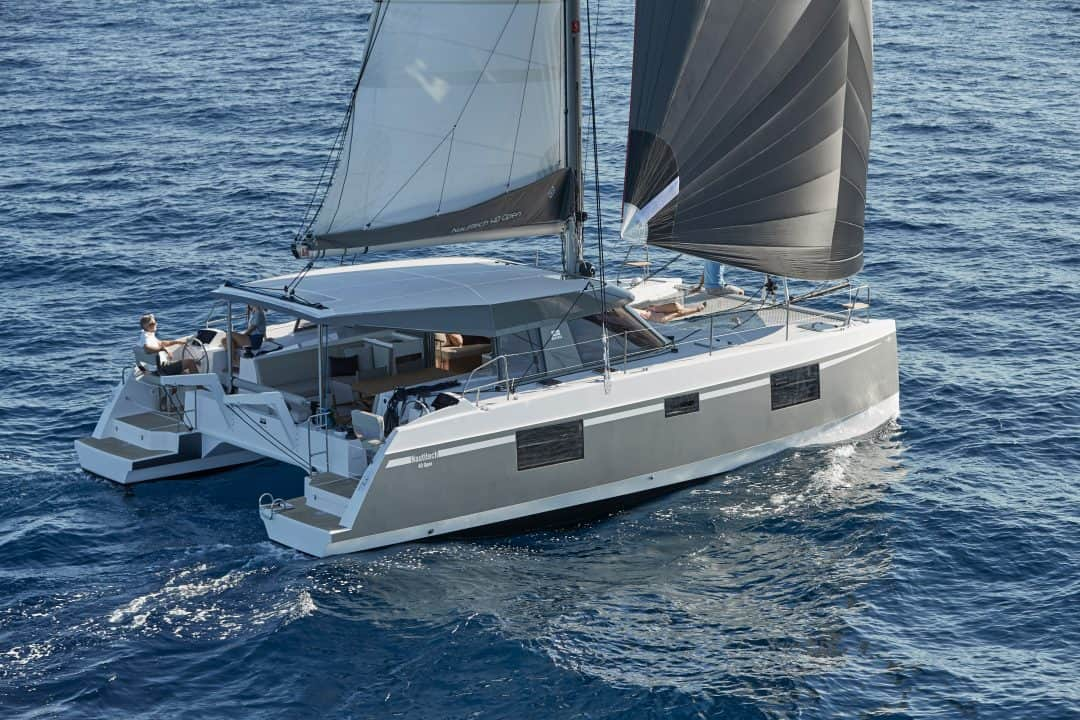 Sea Spirit Cruises - Our Fleet Nautitech 40 Open